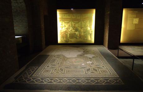 Mosaico Domus romana di Via Bonelli